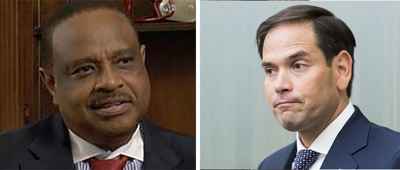 Al Lawson and Marco Rubio