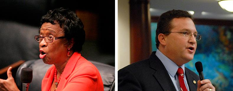 State Legislatures Take Aim At >> Democrat Leaders In Florida Legislature Slam Rick Scott Gop Leadership