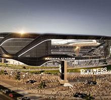 This $1.9 billion stadium will be home to the NFL's Las Vegas Raiders