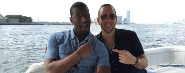 Andrew Gillum and Adam Corey