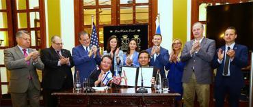 'Ceremonial' anti-Semitism bill-signing