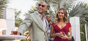 """Dwayne Johnson in HBO's so-called """"Florida"""" comedy, """"Ballers"""""""