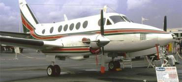 DeSantis' rickety ride is a Beechcraft like this