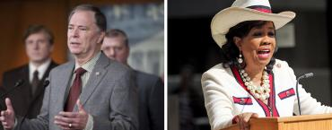 Bill Posey and Frederica Wilson