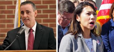Brian Fitzpatrick and Stephanie Murphy
