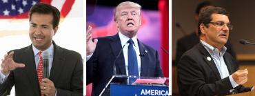 Carlos Curbelo, Donald Trump and Gus Bilirakis