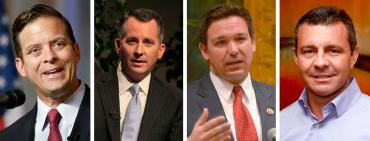 Carlos Lopez-Cantera, David Jolly, Ron DeSantis, and Todd Wilcox