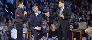 At CNN's town hall, Marco Rubio engages Cameron Kasky