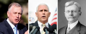 Dan Quayle, Mike Pence and Thomas Marshall