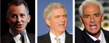 David Jolly, Dan Webster and Charlie Crist