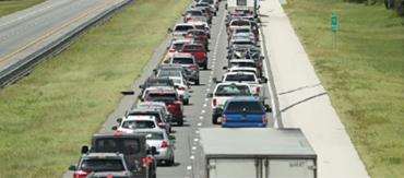 Evacuating on Florida's Turnpike