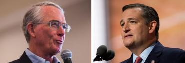 Francis Rooney and Ted Cruz
