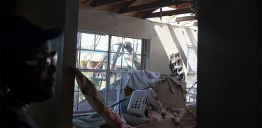 Michael's damage to a Lynn Haven home