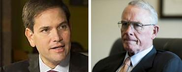 Marco Rubio and Francis Rooney