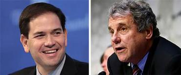 Marco Rubio and Sherrod Brown