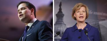 Marco Rubio and Tammy Baldwin
