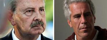 Ric Bradshaw and Jeffrey Epstein