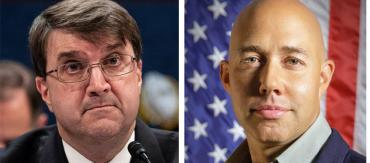 Robert Wilkie and Brian Mast