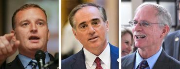 Tom Rooney, David Shulkin and John Rutherford