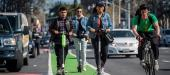 Scooters in special lanes found safer than on sidewalks