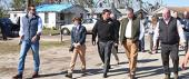 Ron DeSantis, CFO Jimmy Patronis, and FEMA's Brock Long in the Panhandle Wednesday