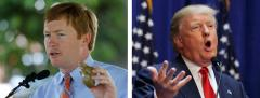 Adam Putnam and Donald Trump