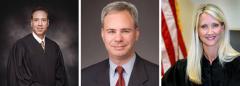 Judge Alan Lawson; Dan Gerber and Judge Wendy Berger