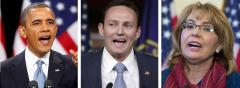 Barack Obama, Patrick Murphy and Gabby Giffords