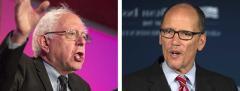 Bernie Sanders and Tom Perez