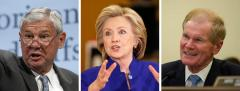 Bob Graham, Hillary Clinton and Bill Nelson