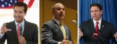 Carlos Curbelo, Blaise Ingoglia and Ron DeSantis