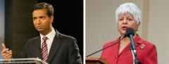 Carlos Curbelo and Grace Napolitano