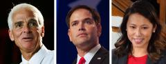 Charlie Crist, Marco Rubio and Stephanie Murphy