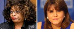 Corrine Brown and Annette Taddeo