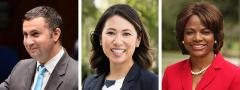 Darren Soto, Stephanie Murphy and Val Demings