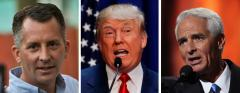 David Jolly, Donald Trump and Charlie Crist