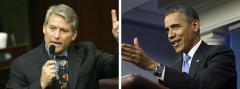 Dennis Ross and Barack Obama