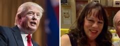 Trump and Kat GatTrump and Kat Gates-Skipperes-Skipper