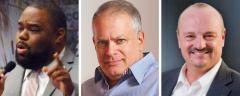 Dwight Bullard, Stephen Bittel and Alan Clendenin