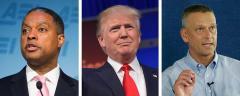 Gerard Robinson, Donald Trump and Tony Bennett