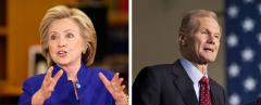 Hillary Clinton and Bill Nelson