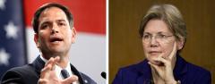 Marco Rubio and Elizabeth Warren