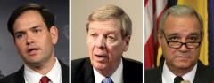 Marco Rubio, Johnny Isakson and Jeff Miller