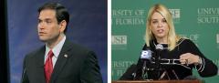Marco Rubio and Pam Bondi