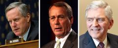 Mark Meadows, John Boehner, and Dan Webster