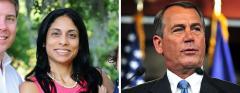 Mary Thomas and John Boehner