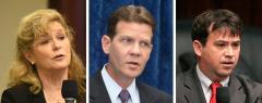 Michelle Rehwinkel Vasilinda, Andy Gardiner, and John Legg