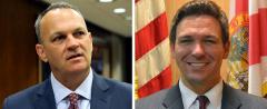 Richard Corcoran and Ron DeSantis