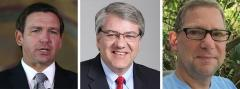 Ron DeSantis, Kevin J. Thibault and Whit Blanton