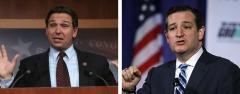 Ron DeSantis and Ted Cruz
